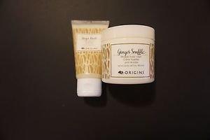Origins ginger souffle body cream 3 ounces + ginger burst body wash 1.7 oz new