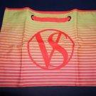 Victoria's Secret bright neon color totebag VS on front pink orange yellow new