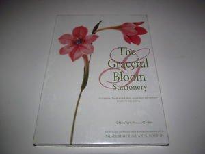 Graceful Bloom Stationery Set New York Botanical Garden 25 sheets/envelopes NIB