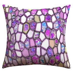 DENY Designs Ingrid Padilla Violet Cells outdoor throw pillow 16 X 16 new