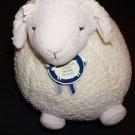 "Bath & Body Works Lambie cream plush stuffed animal fluffy lamb large 18"" NWT"