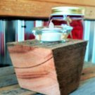 Reclaimed Wood Votive Holder