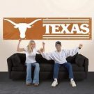 NCAA Texas Longhorns Giant 8 Foot Large Embroidered Banner Indoor Outdoor New