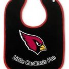 NFL Arizona Cardinals Baby Bib Shower Gift Black Infant Toddler Licensed New