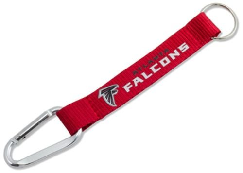 NFL Atlanta Falcons Lanyard Carabiner Keychain Keyring with Clip Licensed New