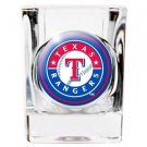 MLB Texas Rangers Shot Glass Primary Logo Licensed New