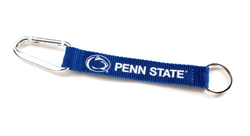 Penn State Nittany Lions Lanyard Carabiner Keychain Keyring w/ Clip Licensed New