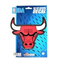 "Chicago Bulls Vinyl Car Auto Truck Window Decal Sticker 5.75"" x 7.75"" New"