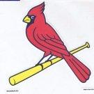 St. Louis Cardinals Die Cut Decal Vinyl Sticker Windshield Window Licensed New