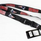 New England Patriots Lanyard Keychain Keyring Badge Holder Breakaway Licensed