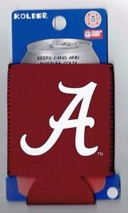 NCAA Alabama Crimson Tide Football Can Koozie Coozie Drink Holder Authentic New