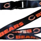 NFL Chicago Bears Lanyard Keychain Keyring Badge Holder Licensed Breakaway