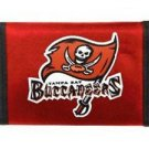 NFL Tampa Bay Buccaneers Nylon Trifold Wallet Velcro Great Gift Licensed New