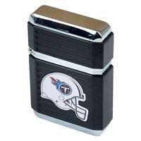 NFL Tennessee Titans Windproof Refillable Jet Butane Lighter w Case Licensed New