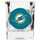 NFL Miami Dolphins Shot Glass Primary Logo Licensed New Great Gift