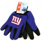 New York Giants Sport Garden Utility Grip Gloves Work Winter 2 Tone Licensed