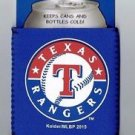 MLB Texas Rangers Football Can Koozie Coozie Drink Holder Authentic New Navy