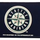 MLB Seattle Mariners Nylon Trifold Kids Wallet Velcro Great Gift Licensed New