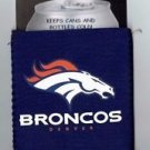 NFL Denver Broncos Football Can Koozie Coozie Drink Holder Authentic New Navy