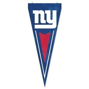 New York Giants Yard Pennant Flag Banner Applique Embroidered Outdoor New