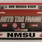 New Mexico State Aggies NCAA Chrome License Plate Frame Free Same Day Shipping