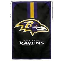 """NFL Baltimore Ravens Flag Banner Cape 47""""X32"""" Polyester Wave It or Wear It New"""