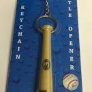 MLB Tampa Bay Rays Bat Keychain Keyring With Bottle Opener Authentic New