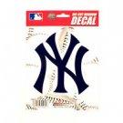 "MLB New York Yankees Vinyl Car Auto Truck Window Decal Sticker 5.75"" x 7.75"" New"