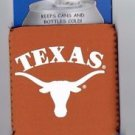 Texas Longhorns Football Can Bottle Koozie Coozie Drink Holder Authentic New