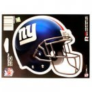 "NFL New York Giants Vinyl Car Auto Truck Window Decal Sticker 5.75"" x 7.75"" New"