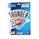 "Oklahoma City Thunders Vinyl Car Auto Truck Window Decal Sticker 5.75"" x 7.75"""
