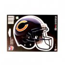 "Chicago Bears Vinyl Car Auto Truck Window Decal Sticker 5.75"" x 7.75"" New"