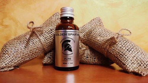 Beard Oil Pure - The Golden Spartan