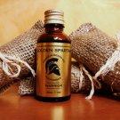 Beard Oil Warrior - The Golden Spartan