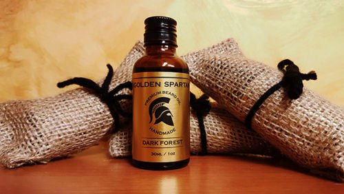Beard Oil Dark Forest - The Golden Spartan