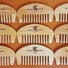 Beard comb (handmade) - The Golden Spartan