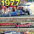 NHRA rule book 1977 all car construction & safety rules  A must have for modelers and car restorers
