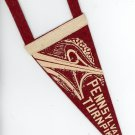 Pennsylvania Turnpike vintage felt pennant Interchange graphics Mint