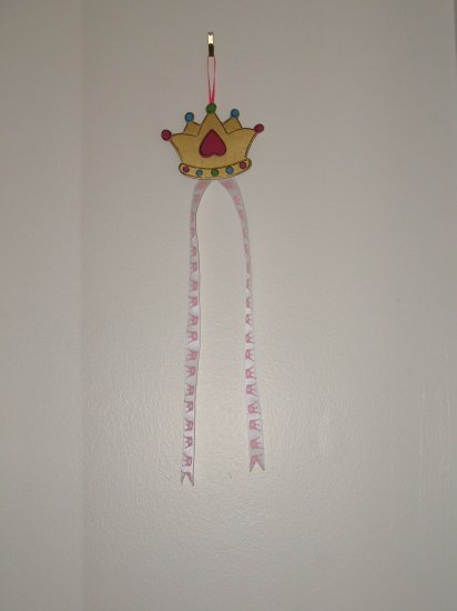 Princess Hanging Bow Holder