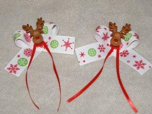 Reindeer Hairbows...
