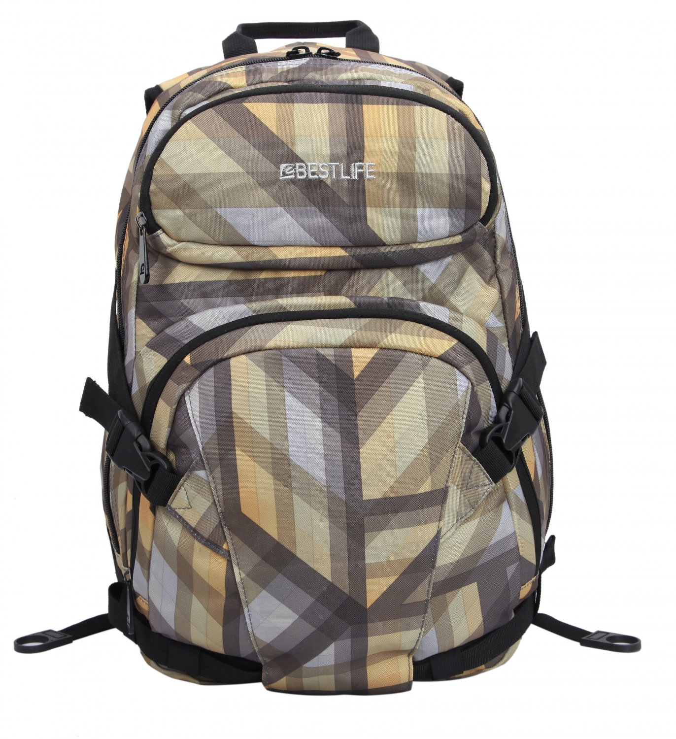 Bestlife Backpack BB-3148Y-15.6'' (Yellow and Grey)