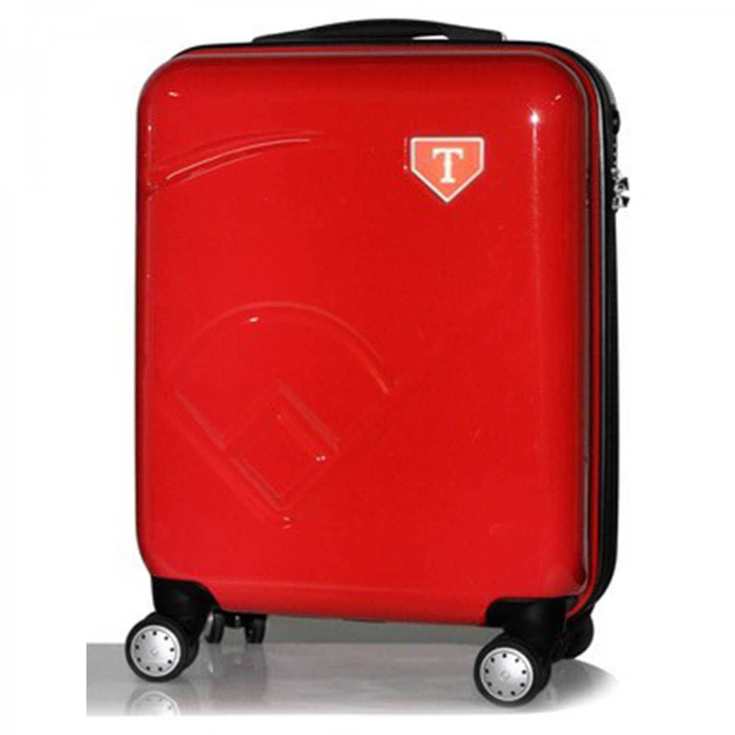 "Texas Rangers, 19"" Premium Molded Luggage by Kaybull #TEX-19PCF-IFD"