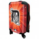 "Detroit Tigers, 21"" Clear Poly Carry-On Luggage by Kaybull #DET13"
