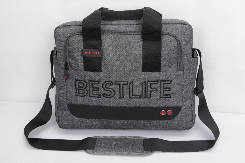 Bestlife Briefcase BBC-3202G-15.6'' (Grey)
