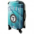 "Texas Rangers, 21"" Clear Poly Carry-On Luggage by Kaybull #TEX11"