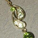 Swarovski Tranquil Green Teardrop Pendant