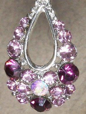 Swarovski Elegant Royal Purple Pendant