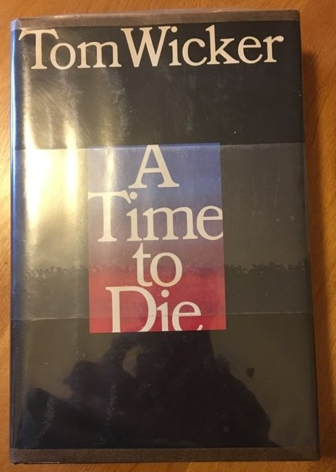 A Time To Die - signed copy