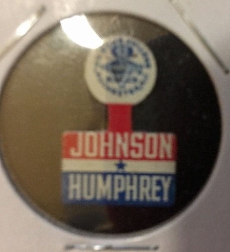 Johnson - Humphrey campaign tab 1964
