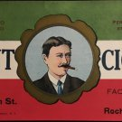 Vintage Giant Cigar Can Label